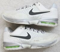 Nike Air Max Cage White Black Running Shoes Sneakers 9 Nine Women's 40.5 Euro
