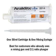 Araldite 2014 High-Temp Chemical-Proof Epoxy Gel-50ml Cartridge Only