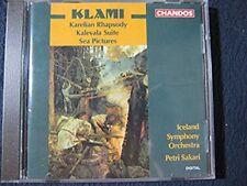 Kalevala Suite / Karelian Rhapsody [Audio CD] Klami; Sakasri and Iceland Symph..