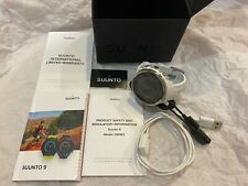 Suunto 9 BARO GPS Watch w/ Extended Battery Life Modes (White)