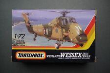 Vintage Matchbox Westland Wessex Helicopter 1/72 Model Kit