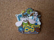 Disney LE 2008 Happy Father's Day pin* Beauty & the Beast BELLE & father Maurice