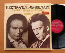 Beethoven Ashkenazy Hammerklavier Sonata 1967 Decca London CS 6563 EXCELLENT