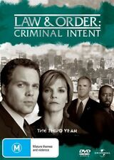 Law And Order - Criminal Intent : Season 3 (DVD, 2009, 5-Disc Set)