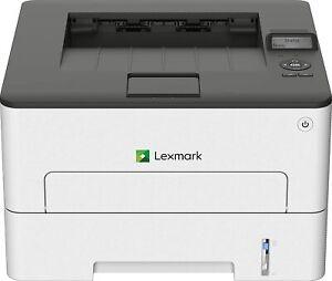 LEXMARK B2236dw Monochrome Compact Laser Printer, Duplex Printing, White/Gray
