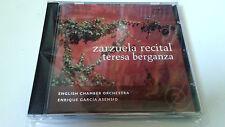 """TERESA BERGANZA """"ZARZUELA RECITAL"""" CD 10 TRACKS COMO NUEVO ENRIQUE GARCIA ASENSI"""