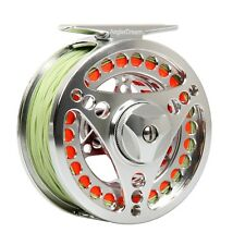 Fly Reel 3/4 5/6 7/8 9/10WT CNC Machined Fly Fishing Reel and Line Combo
