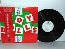 THE TOY DOLLS Dig That Groove Baby LP Vinyl Japan Obi Nellie The Elephant Oi!