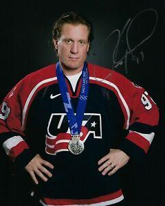 GFA USA Olympic Team JEREMY ROENICK Signed 8x10 Photo J5 COA