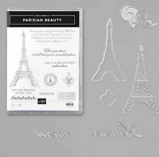 Stampin' Up! Parisian Beauty Stamp Set and Dies Brand New