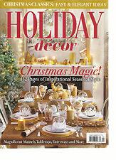 CHRISTMAS CLASSICS EASY & ELEGANT IDEAS, HOLIDAY DECOR  CHRISTMAS MAGIC!  2016