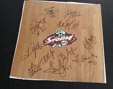 SEATTLE STORM  2013 Team Signed WNBA Floor Board TINA THOMPSON Basketball
