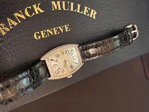 Franck Muller Cintree Curvex WG Diamond 1752 QZ D