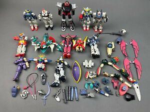 Vintage Bandai Mobile Suit Gundam Lot Miscellaneous Action Figures, As Is