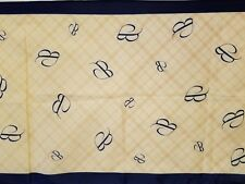 """Vintage Specialty House Fashions 100% Polyester Scarf - initial """" B """""""
