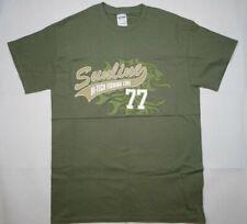 SUNLINE Hi-Tech Fishing Line 77 T-Shirt by GILDAN Ultra Cotton Tee Men's Medium