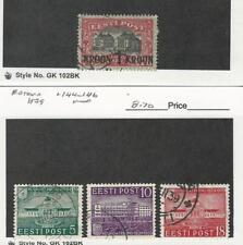 Estonia, Postage Stamp, #105, 144-146 Used, 1930-39, JFZ