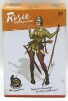 Wargamer HD-19 Rosie the Bowman (54mm Resin) Hot & Dangerous Female Archer Hero