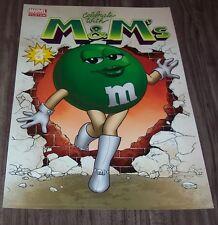 Marvel Comics GREEN M&M GIRL 75TH  ANNIVERSARY NYCC PROMO POSTER PRINT NEW