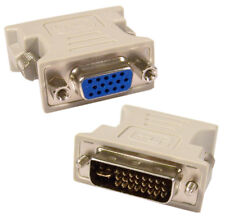 ATi Gray DVI-I-M to VGA-F Adapter 6613-2122121-RS1 Compupack Rev.E Converter