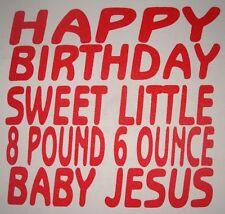 funny christmas happy birthday sweet little baby jesus holiday party t shirt new