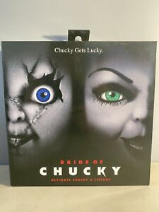 NECA Chucky and Tiffan 7 inch Action Figure, 42114 - 2 Pack