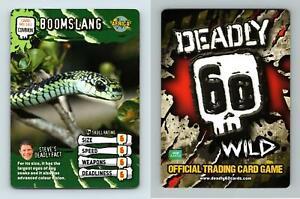 Boomslang #96/161 Deadly 60 Wild 2008 Common TCG Card