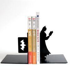 DC Hero Batman Watch Book Steel Bookrack Bookend Shelf Book End