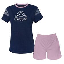 Completo Donna KAPPA Cotone T-Shirt Pantaloncino 2 Modelli