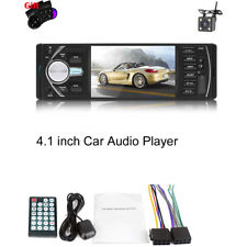 "4.1"" Car Radio Stereo Digital MP5 Player Bluetooth FM Audio With Backup Camera"