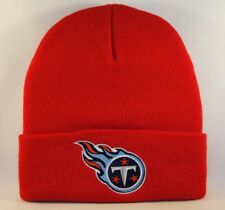 Tennessee Titans NFL Vintage Cuffed Knit Hat Red