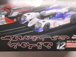 """AFX New Track Pack 30 pcs Lot Straight Curved 15"""" 12"""" 9""""  Build 12 layouts"""