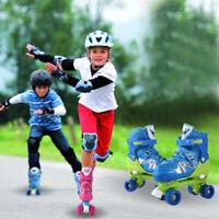 Inline Skates Girls Boys Roller Blades Kids Child Roller Blades Adjustable Gift.