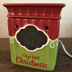 Scentsy Tis The Season Days Until Christmas Countdown Present Electric Warmer