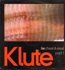 Klute(Vinyl LP)Lie Cheat & Steal Part 1-Commerical Suicide-SUICIDELP001-Ex/M