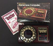 Mattel Electronics 1979 Horoscope Computer Vintage Game
