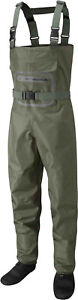Leeda New Profil Stocking Foot Breathable Fly Fishing Chest Waders - All Sizes