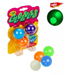 Globbles Fidget jouet, balles collantes, boules cibles collantes anti-Stress