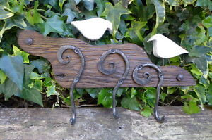 Towel Hook Rack Hand Made Hand Crafted by Blacksmith Very Unique Rustic NO. 2