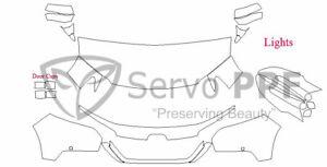 Precut 3M PRO Series Clear Bra Kit for 19+ Honda Passport
