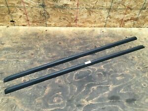 2010 JEEP LIBERTY UPPER PASSENGER & DRIVER SIDE ROOF RACK RAIL MOLDING SET OEM+