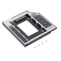 Good 9.5mm SATA 2nd HDD SSD Hard Drive Caddy for CD/DVD-ROM Optical Bay IM
