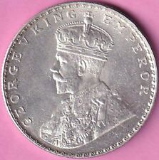1912 British India King George V rupee Unc silver coin