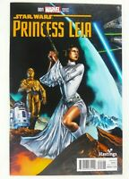Marvel STAR WARS PRINCESS LEIA (2015) #1 Rare HASTINGS VARIANT NM Ships FREE!