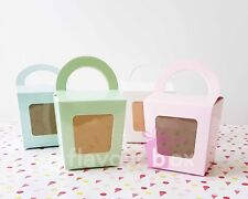 10x Cupcake Boxes Bomboniere Wedding Birthday Favour Box Baby Shower Christening