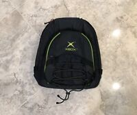 RARE Original XBOX Backpack Travel Carry Case Bag Official Microsoft