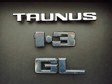 Ford TAUNUS TC 2 - Badges Logos Insignes de coffre