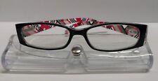 Spring Hinge Reading / Fashion Glasses & Case, Strength +2.75 D