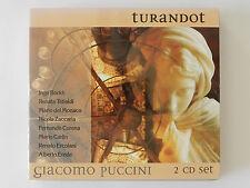 2 CD Puccini Turandot Borkh Tebaldi del Monaco Zaccaria Erede