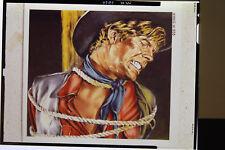 Originalzeichnung von Günther König für Western-Hit Heft Bastei Titelbild